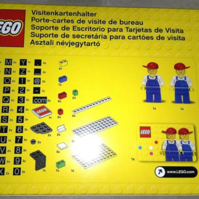 Lego 850425 desk business card holder new toys games on carousell share this listing reheart Gallery