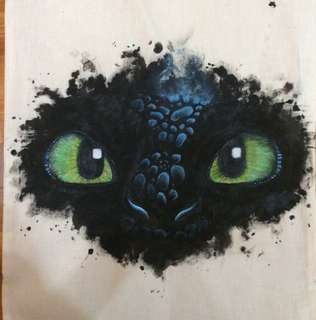 Hand-painted Tote Bags (Re-opened!)