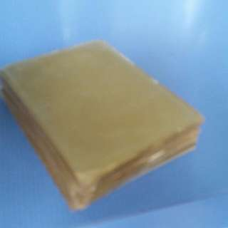 Golden Coloured Card Protectors