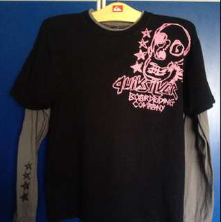 Quicksilver T-Shirt With Long Sleeve
