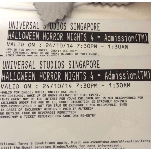 USS Halloween Horror Night Cheap Tickets