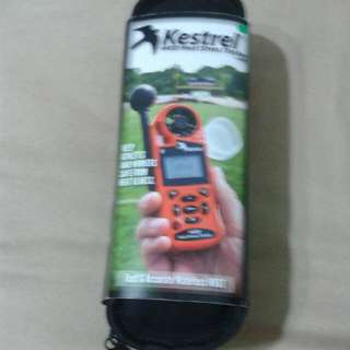 Kestrel 4400 Heat Stress Tracker.