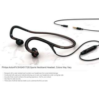 Philips ActionFit Sport Neckband Headset