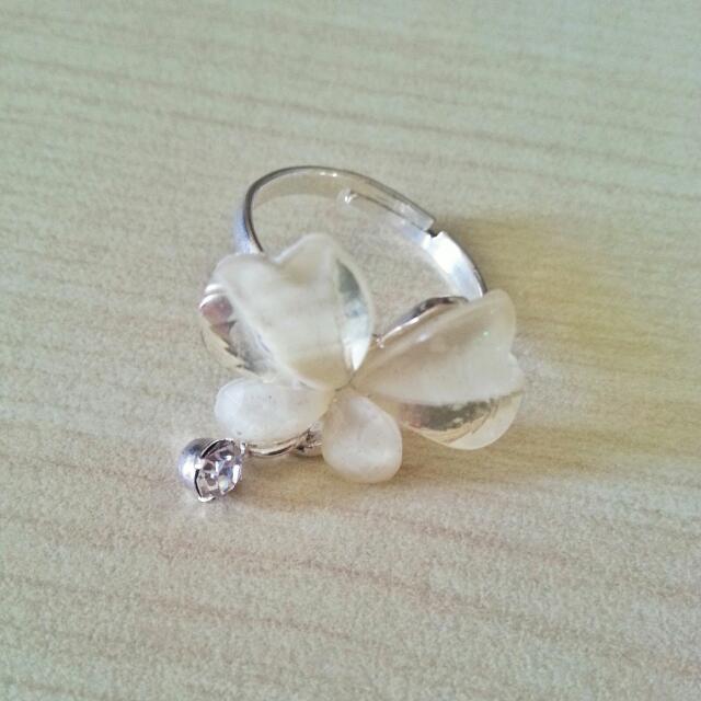 [New] Clover Leaf Ring