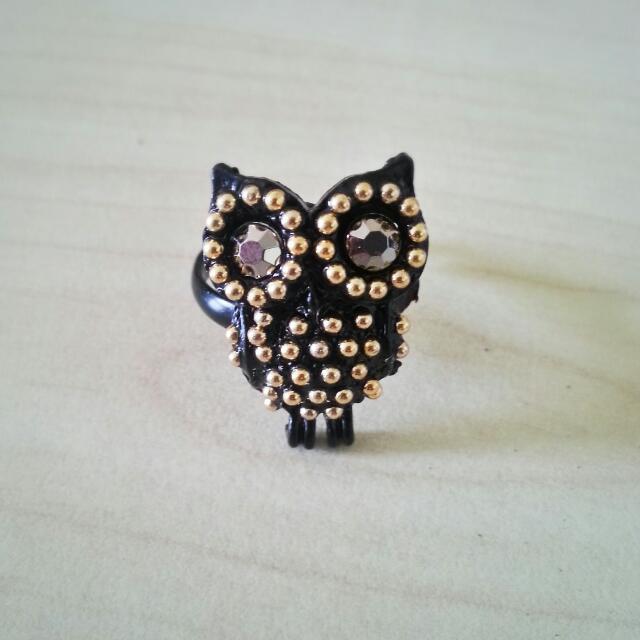 [New] Owl Ring