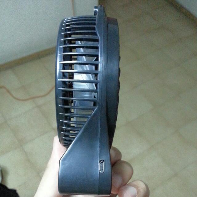 Premium Portable Fan Powerful 3 Speed Fan Rechargeable Personal or Baby Fan!