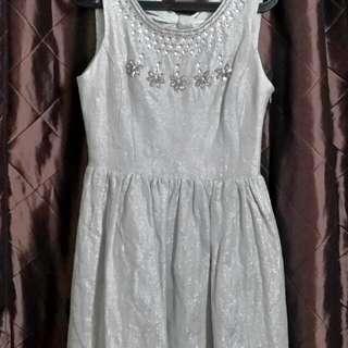 Pre - loved Miss Selfrige Mint Glitter Dress