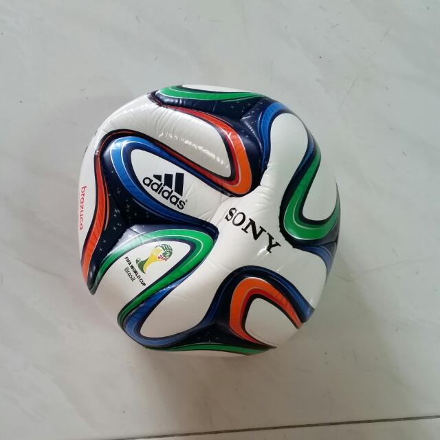 566fc7de46 BN  Adidas Brazuca Top Glider Soccer Ball