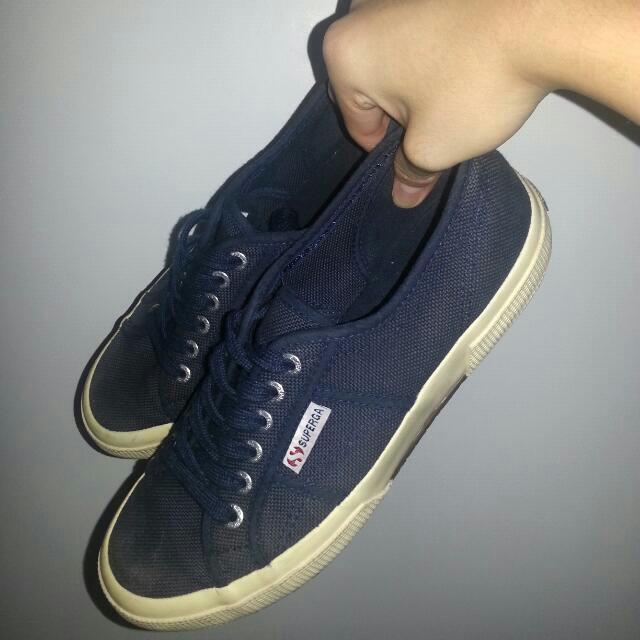 Superga Navy Blue 2750, Men's Fashion