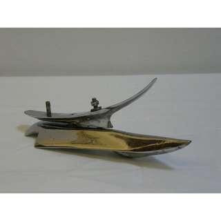 Vespa Plane Figurine