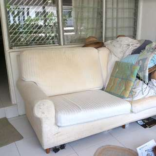 FREE- 2 Seater Sofa To Give Away