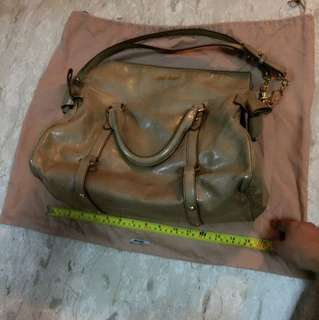 Authentic Miu Miu Bag Large