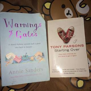 Tony Parsons // Annie Sanders