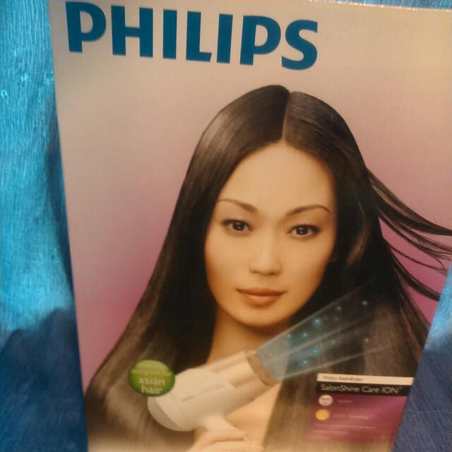 Original Philips Hair Dryer + Accessory