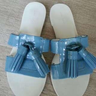 Zara Sandals With Tassels