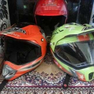 Customized Helmets.