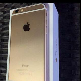 Iphone 6 Plus Gold 64G