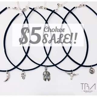 $5 Sale Chokers