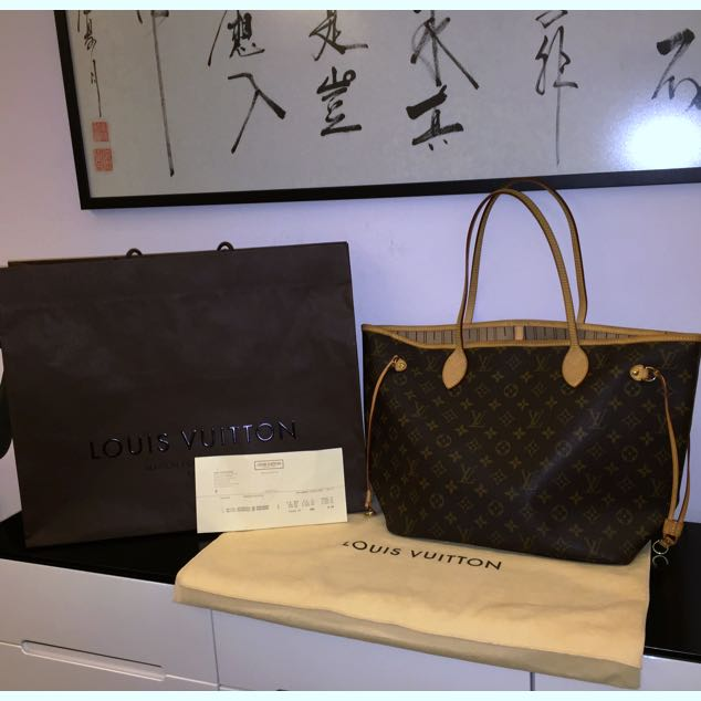 Authentic LV Neverfull MM (For Fastdeal) (No nego) RESERVED