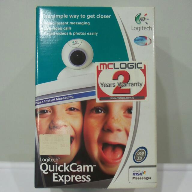 Clearance Logitech Quickcam Express Webcam Electronics On