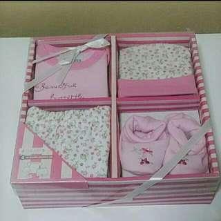 Shear Baby Girl Gift Set - Brand New