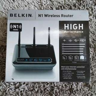Belkin N1 Wireless Router