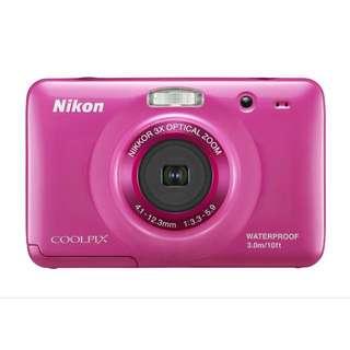Nikon Coolpix S30 - Pink