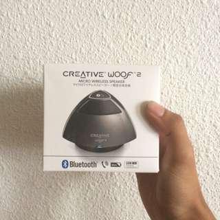 Creative woof 2 Portable Speaker