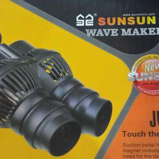 Wave Maker. Eheim External Filter 2226. 3ft Curve Arcylic Fish Tank With Cabinet