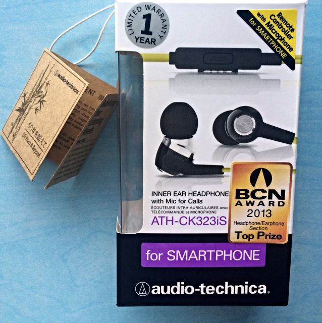 {Brand New!} ATH-CK323iS earphone