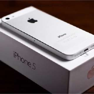iPhone 5 (32GB) White Color