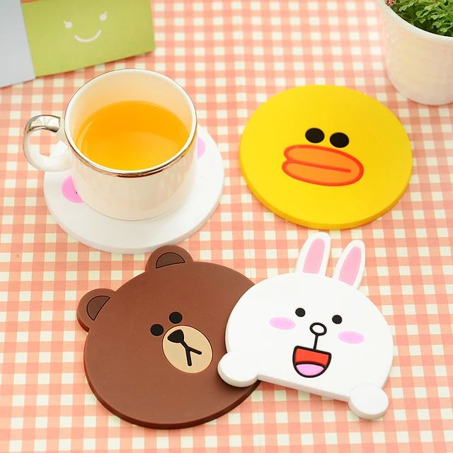 LINE Coffee Coaster