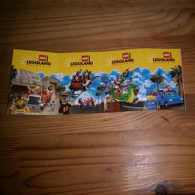 Malaysia Lego Land Ticket 40 Dollar A Ticket (Have 4 Ticket Need Buy All 4)  Price Negotiable Vaild Date Is Till 12/12/2014