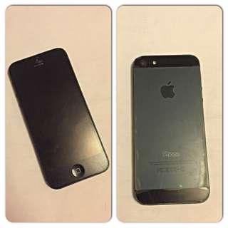 iPhone 5, 32gb. Black