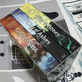 Mortal Instruments Books 1-3