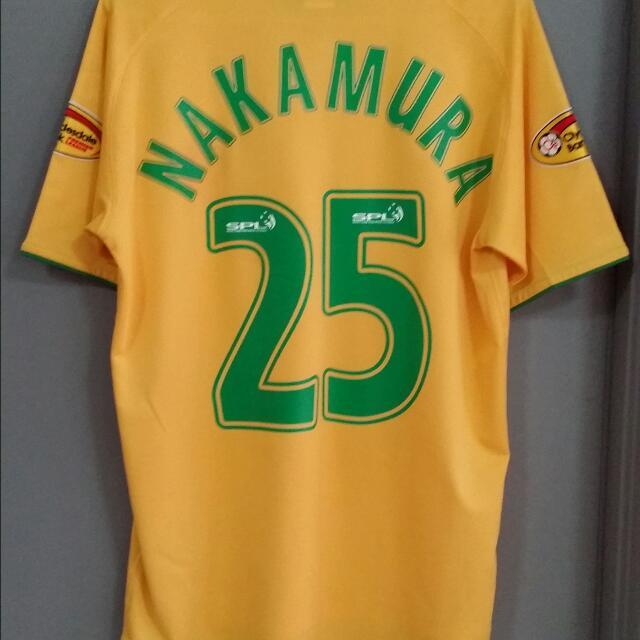 best loved e5732 fafe6 Celtic Away Shirt Nakamura#25