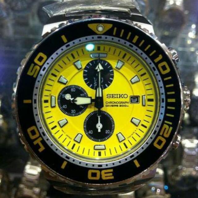 Seiko Chronograph Divers 200m Watch (Limited Edition)
