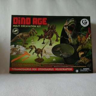 Dino Age Excavation Kit