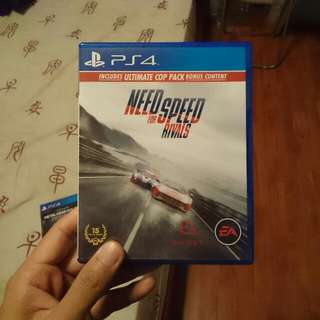 PS4 Need For Speed Rivals
