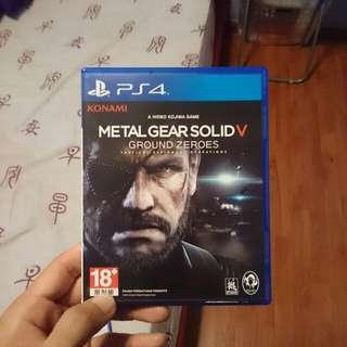 PS4 Metal Gear Solid