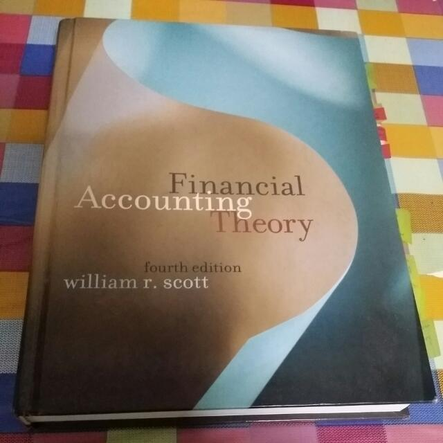 Financial Accounting Theory By William Scott