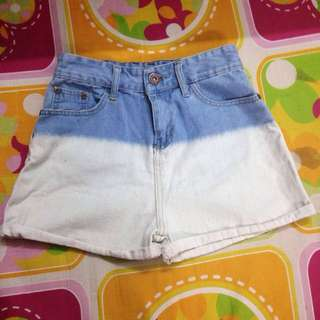 OMBRÉ BRAND NEW HIGH WAISTED SHORTS