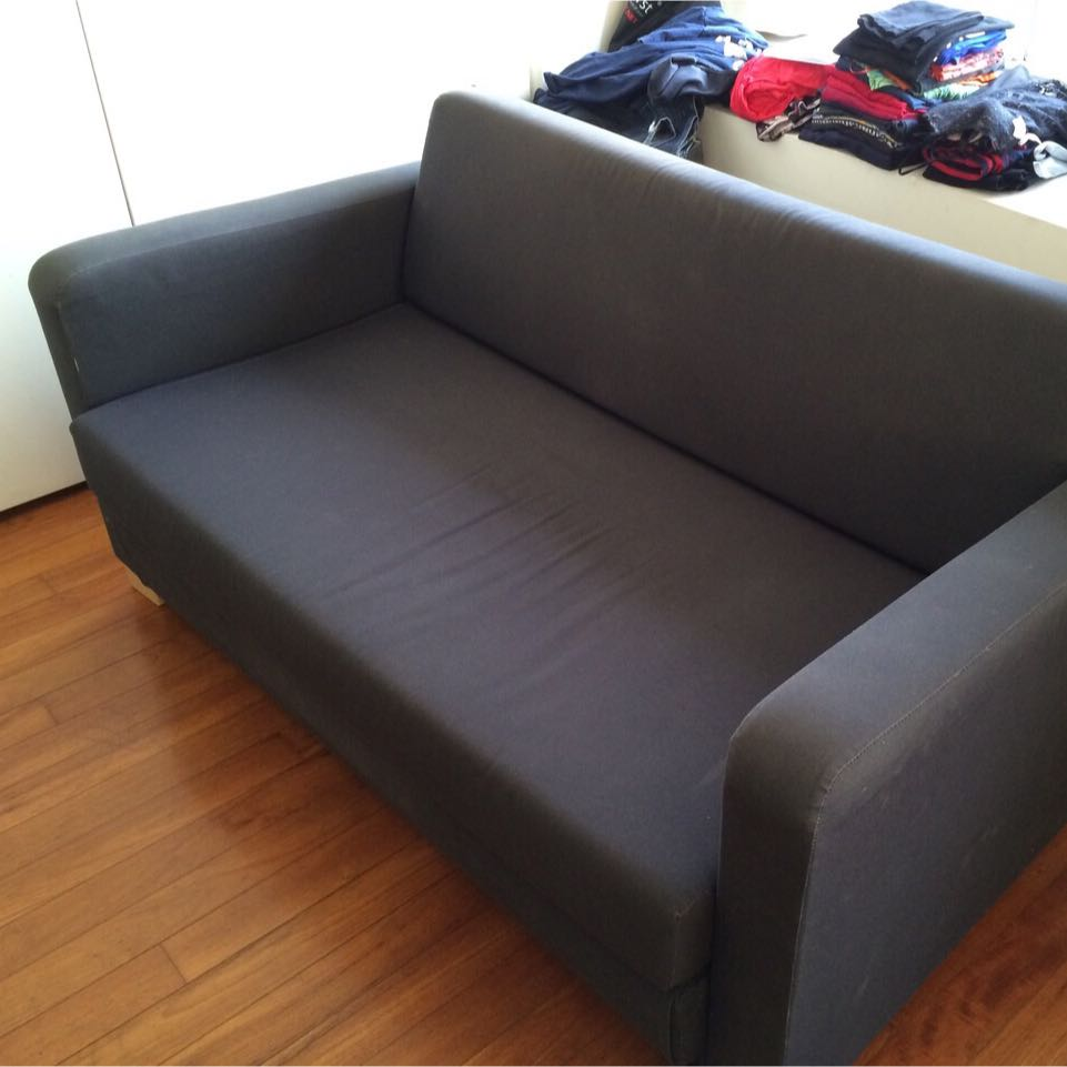 4 Year Old Ikea Sofa Bed Furniture On Carousell