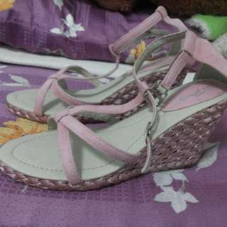 (Price Reduced) Pink Wedge