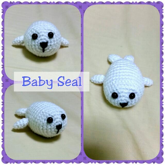 Seal of approval – Free crochet amigurumi pattern by TRH – Blog by ... | 640x640