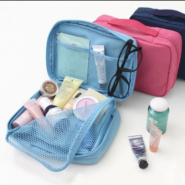 Travel Toiletries Organizer Pouch