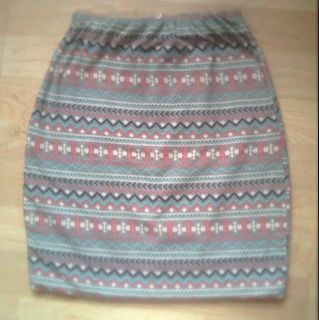 Tribal Bandaged Skirt