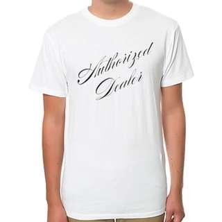 BGRT The Authorized Dealer T-Shirt In White