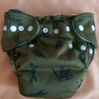 One-size Bumwear Cloth Diaper  (With Insert)