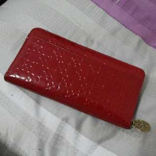 Coach Red Long Wallet
